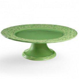 prato de bolo ceramica bouquet garni g verde 3192980801 porto brasil casa cafe e mel