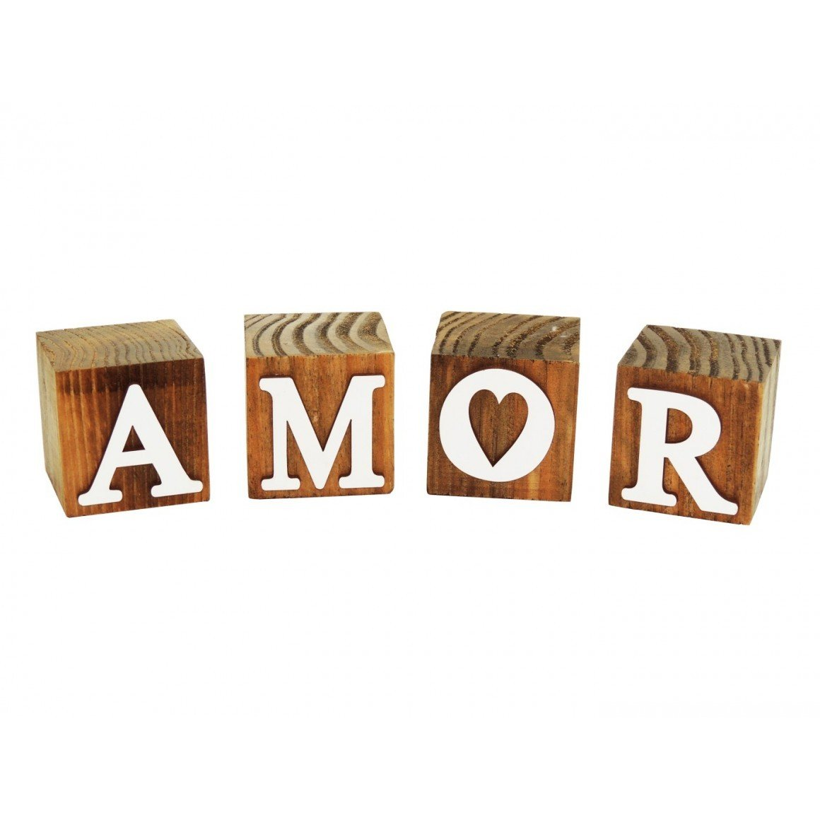 cubos de madeira decorativos amor 183201 marimar casa cafe e mel