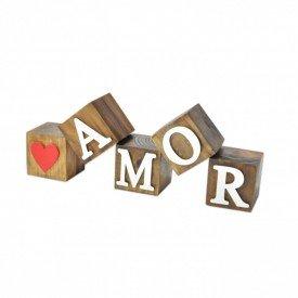 cubos de madeira decorativos amor coracao 17342 marimar casa cafe e mel