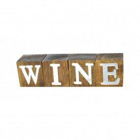cubos de madeira decorativos wine espelhado 17317 marimar casa cafe e mel