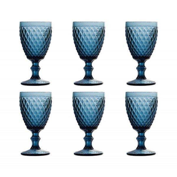 taca para agua bico de abacaxi azul 6464 lyor casa cafe e mel 4