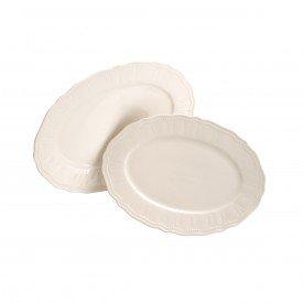 travessa de porcelana oval off 2 pecas 17119 rojemac casa cafe e mel 1
