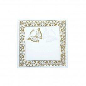 guardanapo de papel borboleta dourada gp 065 casa cafe e mel 2