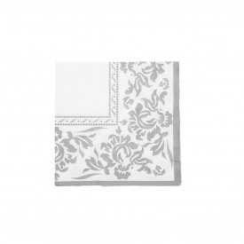 guardanapo de papel branco com cinza gp 059 casa cafe e mel