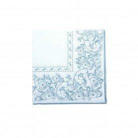 guardanapo de papel branco com detalhe cinza gp 068 casa cafe e mel