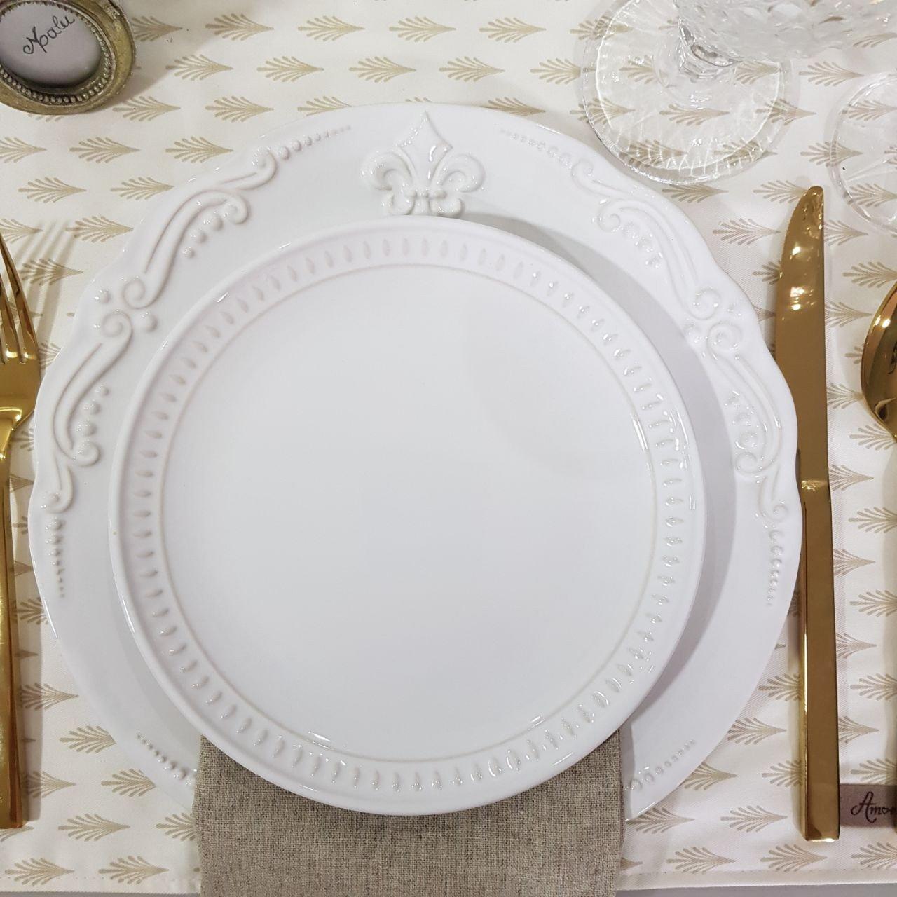 prato sobremesa ceramica sevilha 6 pecas porto brasil branco casa cafe e mel