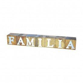 cubos de madeira decorativos familia 17285 marimar casa cafe e mel