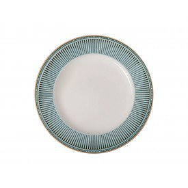 prato raso ceramica toscana azul 810300319 corona casa cafe e mel