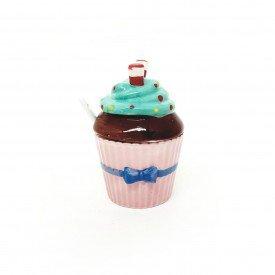 acucareiro cupcake porcelana com colher rosa 73333 r casa cafe e mel 1