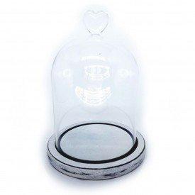 redoma de vidro coracao com base em madeira branco 27685 1 cravo e canela casa cafe e mel 1