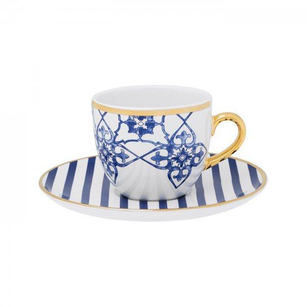 xicara de cha com pires porcelana lusitana 3905 oxford casa cafe e mel 1