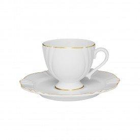 xicara de cha com pires porcelana victoria 081163 oxford casa cafe e mel