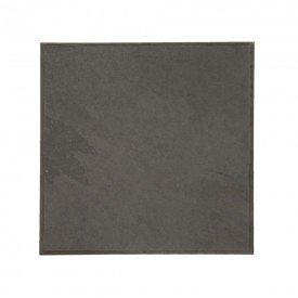 tabua quadrada ardosia grey liso 861 30x30 pratos de ardosia casa cafe e mel