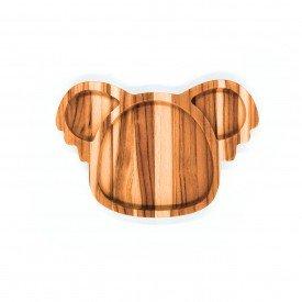 prato infantil de madeira teca coala 6632 wood love casa cafe e mel 1