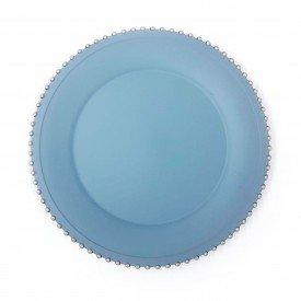 sousplat azul matte com bolinhas douradas ucoz01770 home design casa cafe e mel 1