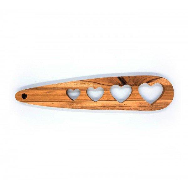 medidor de macarrao coracao madeira teca 6627 wood love casa cafe e mel