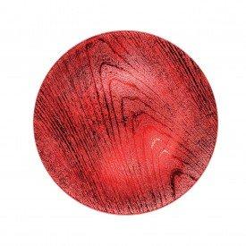 sousplat metalizado texturizado individual vermelho hd50908 v casa cafe e mel 1