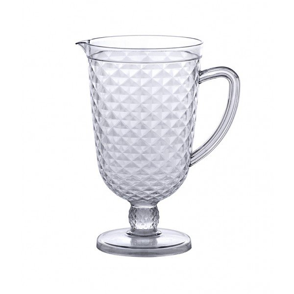 jarra luxxor acrilico 2 5l paramount transparente 1156 casa cafe e mel 1