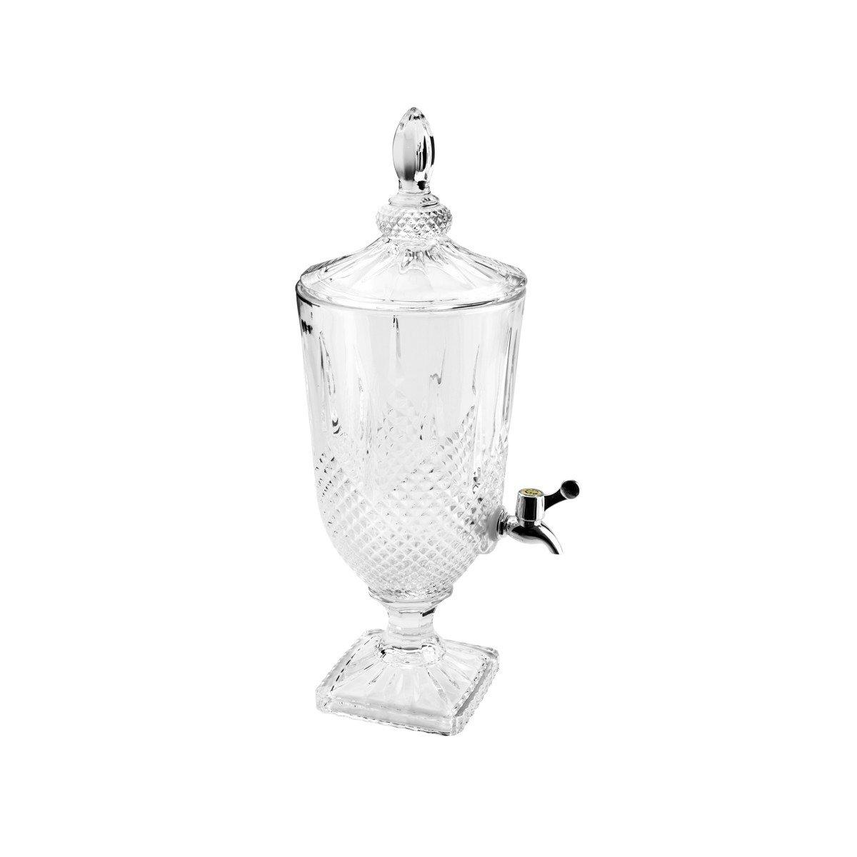 suqueira dispensador de bebidas diamond transparente 3l 7414 lyor casa cafe e mel 1