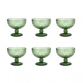 taca para sobremesa bico de abacaxi verde 6494 lyor casa cafe e mel 4
