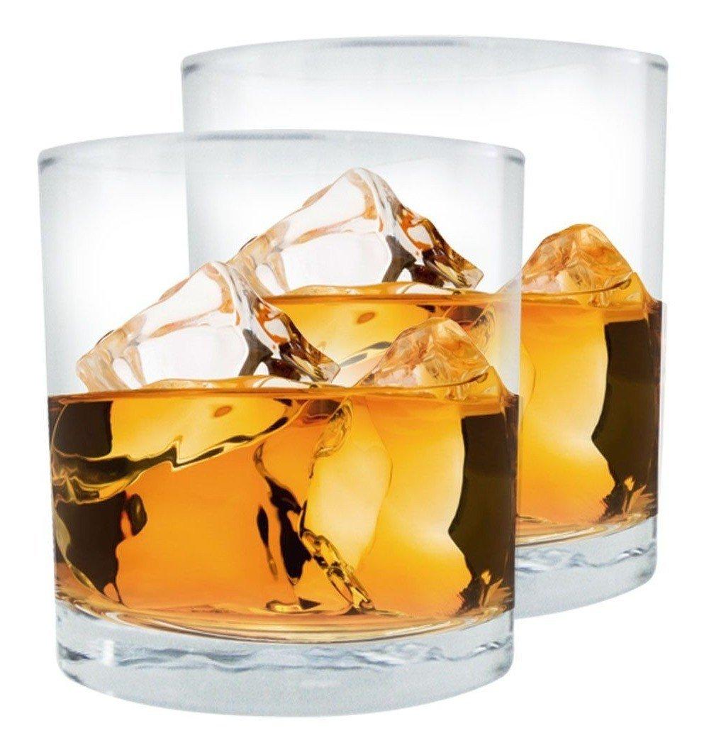 ab99a590 kit com 2 copos de vidro para whisky de 320ml 0 1571074069