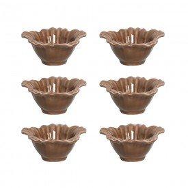 petisqueira ceramica campestre 6 pecas cacau 1219267101 porto brasil casa cafe e mel 1