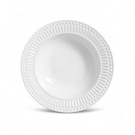 prato fundo ceramica roma branco 6 pecas 61133 porto brasil casa cafe e mel