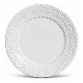 prato para sobremesa ceramica esparta 6 pecas branco 61584 porto brasil casa cafe e mel 1