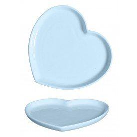 travessa ceramica coracao azul 27 5x25 5cm 79 336a silveira casa cafe e mel