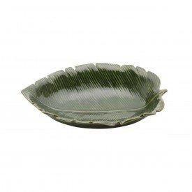 petisqueira de ceramica banana leaf 30x20 5x6 5cm 4333 lyor casa cafe e mel 1