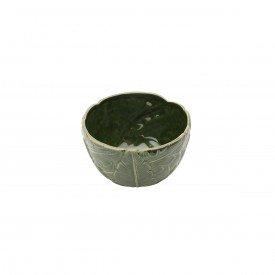 bowl petisqueira de ceramica banana leaf 16x16x9 5cm 4338 lyor casa cafe e mel 1