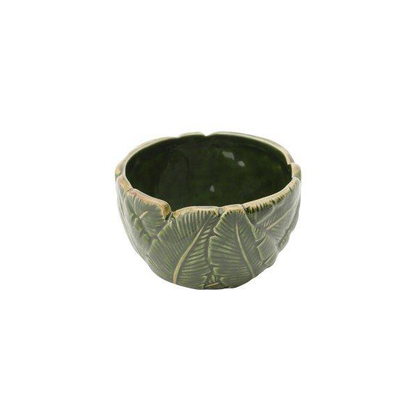 bowl petisqueira de ceramica banana leaf 11x11x6 5cm 4339 lyor casa cafe e mel 2
