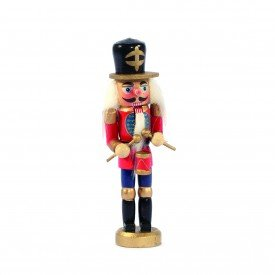 soldado quebra nozes decorativo natal madeira chapeu preto 19851 casa cafe e mel