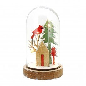 cupula de vidro natal com led 20083 casa cafe e mel 1