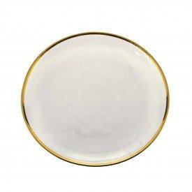 sousplat individual cristal com borda dourada agate 27809 rojemac casa cafe e mel 1