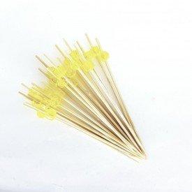 palito para petisco de madeira bolinha amarela trc7884 3 casa cafe e mel 1