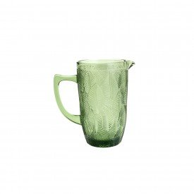 jarra de vidro leaves verde 1 3l 35637 bon gourmet casa cafe e mel 3
