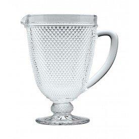 jarra de vidro bico de jaca 1l transparente 25641 bon gourmet casa cafe e mel