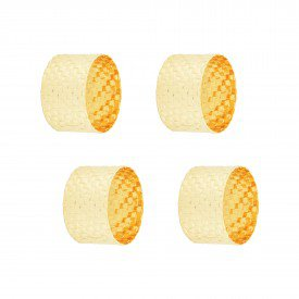 argola para guardanapo metal trancado dourado 60722 rojemac casa cafe e mel 1