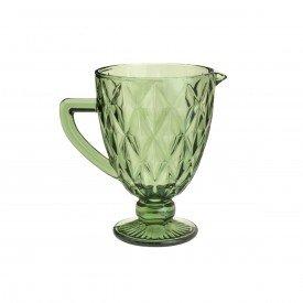 jarra de vidro diamond 1 litro verde 6496 lyor casa cafe e mel 4