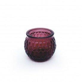 castical de vidro porta vela vermelho hd02102vm casa cafe e mel 8