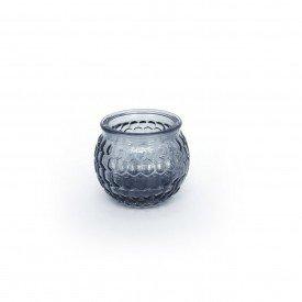 castical de vidro porta vela cinza hd02102c casa cafe mel 4