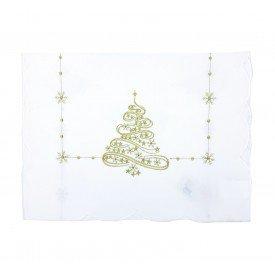 trilho de mesa individual natal off white com dourado 624 005 casa cafe mel 1