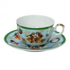 xicara para cafe porcelana natal 2 pecas sinos 119 069 casa cafe e mel 11