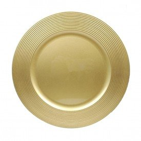 sousplat de plastico ouro individual o33cm ma 0113 casa cafe mel 1