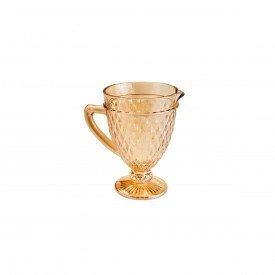 jarra de vidro bico de abacaxi 1l ambar 7390 lyor casa cafe e mel 1