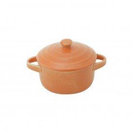 mini cacarola de porcelana farm laranja 8313 lyor casa cafe mel 1