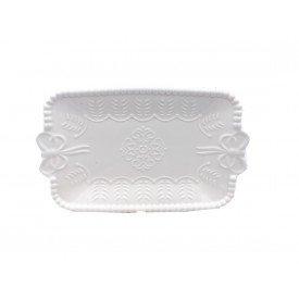 mini bandeja ceramica bolinhas com laco 061018 casa cafe e mel 1