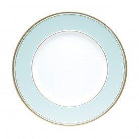 sousplat plastico detalhe dourado 6 pecas verde tiffany 60244 rojemac casa cafe e mel 1