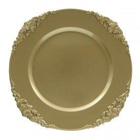 sousplat galles barroco ouro 2 pecas 093119 copa cia casa cafe mel